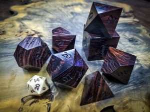 Big Ass Dice in East Indian Rosewood