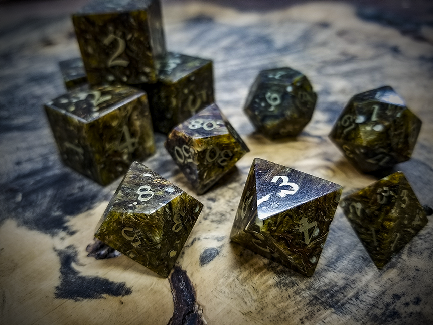 Hops Polyhedral Dice