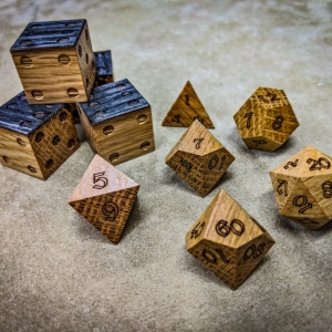 Jim Beam Polyhedral Dice Set