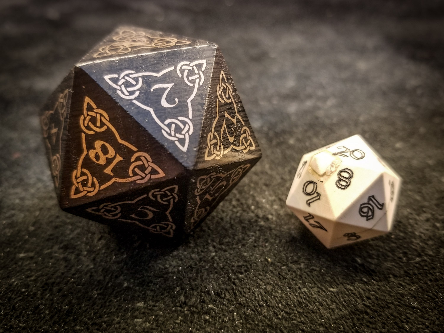Big Ass Bronze Age d20