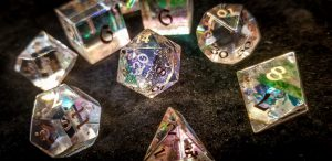 Displacer Beast Dice Set Close Up
