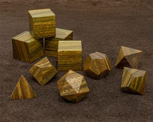 Argentinean Lignum Vitae Polyhedral