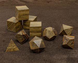 Black Limba Polyhedral