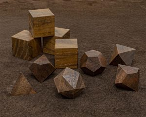 Black Walnut Polyhedral