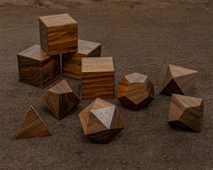 Bolivian Rosewood Polyhedral