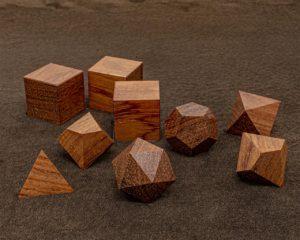 Bubinga Polyhedral