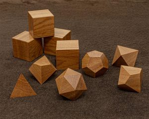 Bullet Wood Polyhedral