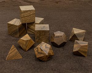 English Walnut Polyhedral