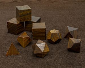 Guicam Lignum Vitae Polyhedral