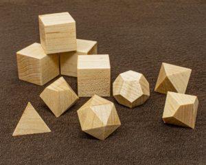 Hard Maple Polyhedral