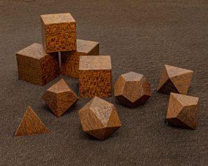 Honduran Mohagony Polyhedral