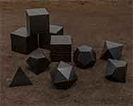 Icons African Blackwood Polyhedral