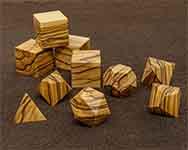 Icons Bethelham Olive Wood Polyhedral
