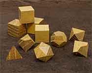 Icons Black Locust Polyhedral