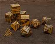Icons Bocote Polyhedral