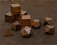 Icons Bolivian Rosewood Polyhedral
