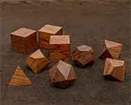 Icons Bubinga Polyhedral