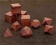 Icons Eastern Aromatic Cedar Polyhedral