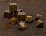 Icons Guicam Lignum Vitae Polyhedral
