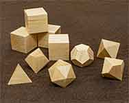 Icons Hard Maple Polyhedral