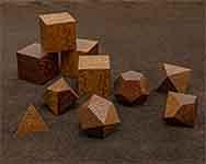 Icons Honduran Mahogany Polyhedral