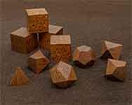Icons Honduran Mohagony Polyhedral