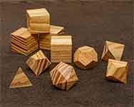 Icons Honey Locust Polyhedral