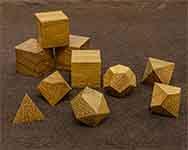 Icons Iroko Polyhedral