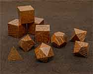Icons Leopard Wood Polyhedral