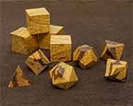 Icons Marble Wood Polyhedral