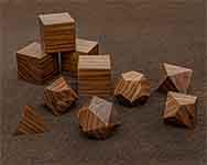 Icons Morado Polyhedral