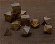 Icons Pau Rosa Brown Polyhedral