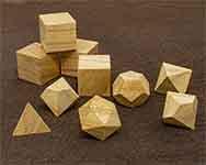 Icons Paulownia Polyhedral