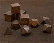 Icons Peruivan Walnut Polyhedral