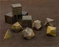 Icons Rainbow Poplar Polyhedral