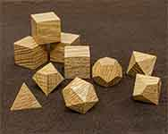Icons Red Oak Polyhedral