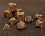 Icons Redwood Burl Polyhedral