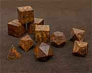 Icons Snakewood Polyhedral