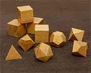 Icons Spanish Cedar Polyhedral