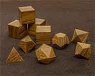 Icons Teak Polyhedral