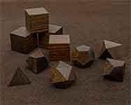 Icons Texas Ebony Polyhedral