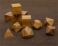 Icons Tzlam Walnut Polyhedral