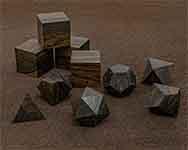 Ziricote Polyhedral