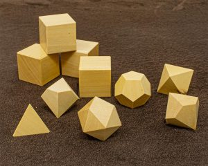 Ivory Wood Polyhedral