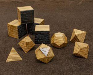 Jim Beam Oak Polyhedral