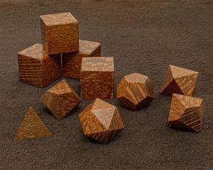 Leopard Wood Polyhedral