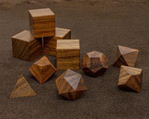 Patagonian Rosewood Polyhedral