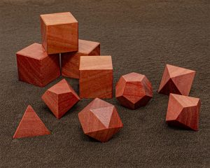 Pink Ivory Polyhedral
