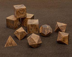 Redwood Burl Polyhedral