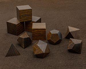 Texas Ebony Polyhedral